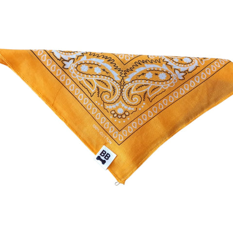 BANDANA OLD SCHOOL NARANJA