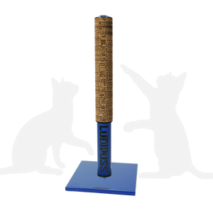 Dark Blue Scratching post