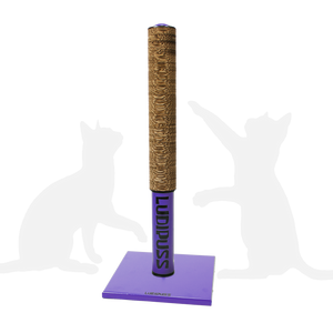 Purple Scratching post