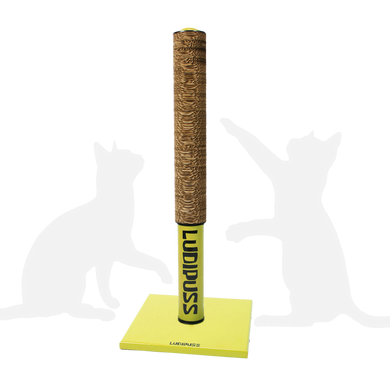 Yellow Scratching post