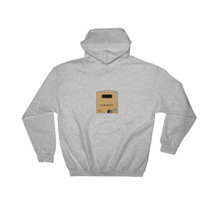 """Just a Box"" Hooded Sweatshirt Free Shipping (UK/US)"