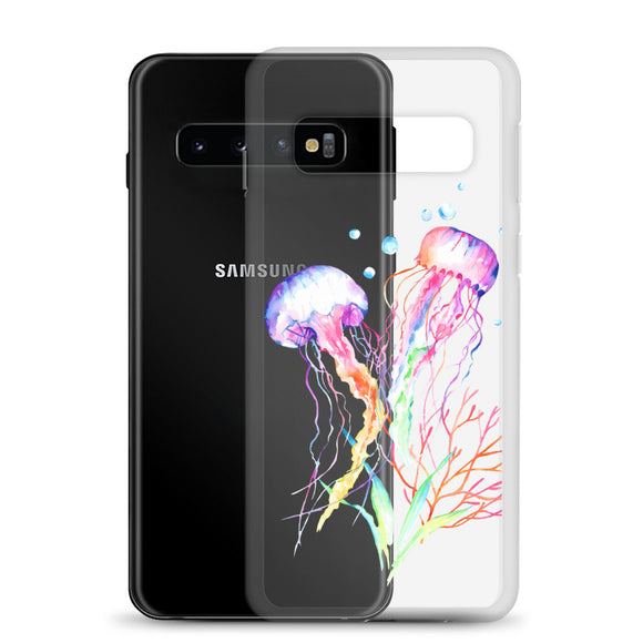 Samsung Galaxy (S10, S10e, S10+) Jellyfish Phone Case