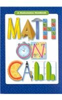 Math on Call: A Mathematics Handbook, Grades 6-8