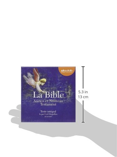 La Bible - Audio livre 10 CD MP3 (French Edition)