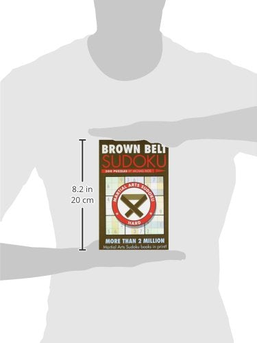 Brown Belt Sudoku (Martial Arts Puzzles Series)