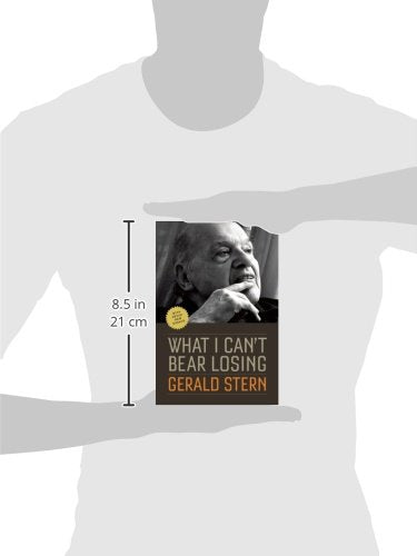 What I Can't Bear Losing: Essays by Gerald Stern