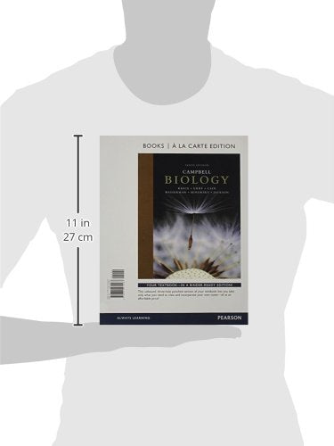 Campbell Biology, Books a la Carte Edition & Modified Mastering Biology with Pearson eText -- ValuePack Access Card -- for Campbell Biology