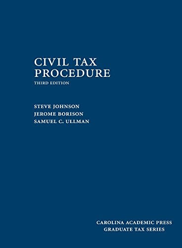Civil Tax Procedure (Graduate Tax)