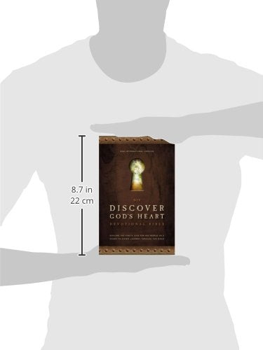 NIV, Discover God's Heart Devotional Bible, Hardcover: Explore the King's Love for His People on a Cover-to-Cover Journey Through the Bible