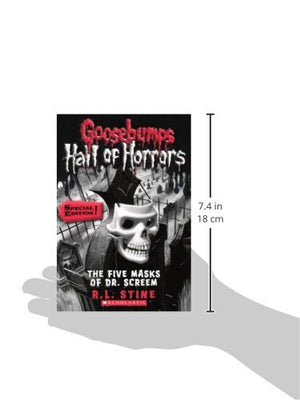 The Five Masks Of Dr. Screem (Turtleback School & Library Binding Edition) (Goosebumps: Hall of Horrors)
