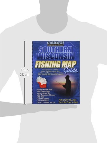 Southern Wisconsin Fishing Map Guide