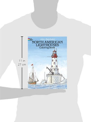 North American Lighthouses Coloring Book (Dover History Coloring Book)