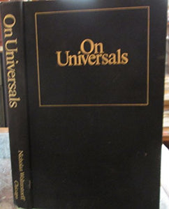 On Universals: An Essay in Ontology
