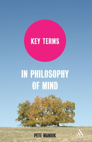 Key Terms in Philosophy of Mind