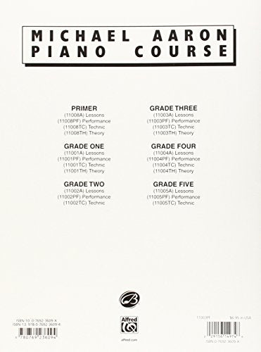 Michael Aaron Piano Course Performance: Grade 3
