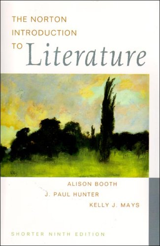 The Norton Introduction to Literature (Shorter Edition)