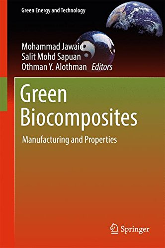 Green Biocomposites: Manufacturing and Properties (Green Energy and Technology)