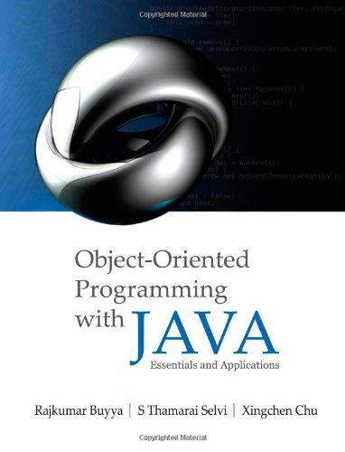 Object Oriented Programming with Java: Essentials and Applications