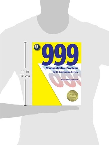 999 Nonquantitative Problems for FE Examination Review