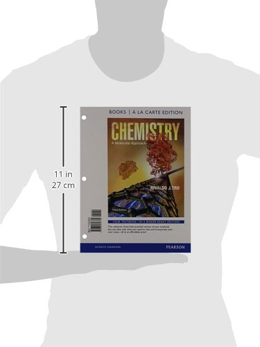 Chemistry: A Molecular Approach, Books a la Carte Edition