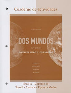 Workbook/Laboratory Manual Dos Mundos: En breve