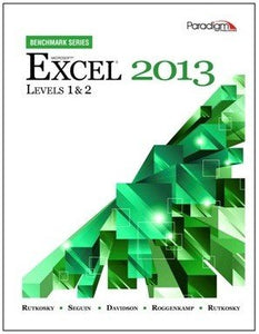 Microsoft Excel 2013: Levels 1 and 2