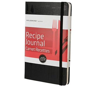 Moleskine Passion Journal - Recipe, Large, Hard Cover (5 x 8.25) (Passion Book Series)