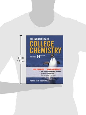 Foundations of College Chemistry, Binder Ready Version