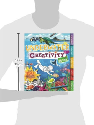 The Underwater Creativity Book: Games, Cut-Outs, Art Paper, Stickers, and Stencils! (Creativity Books)