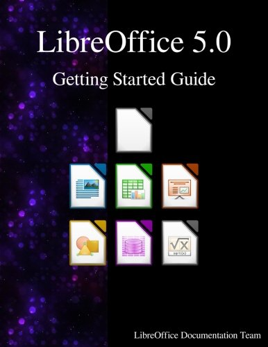 LibreOffice 5.0 Getting Started Guide