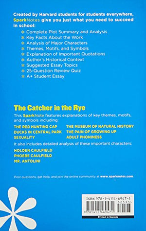 The Catcher in the Rye SparkNotes Literature Guide (SparkNotes Literature Guide Series)