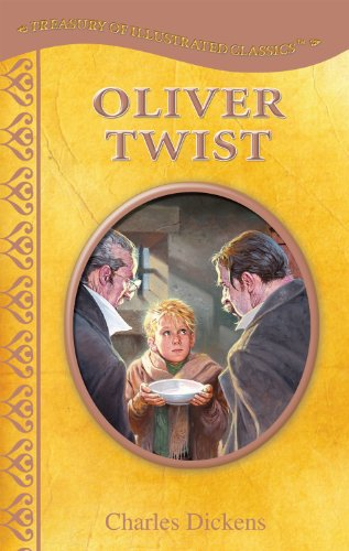 Treasury of Illustrated Classics Storybook Collection-Oliver Twist (Illustrated Jacketed Hardcover)