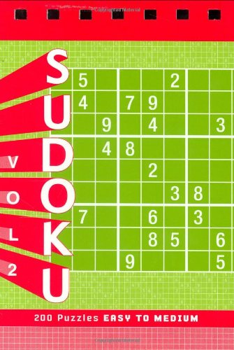 Sudoku Vol. 2 Puzzle Pad: Easy to Medium