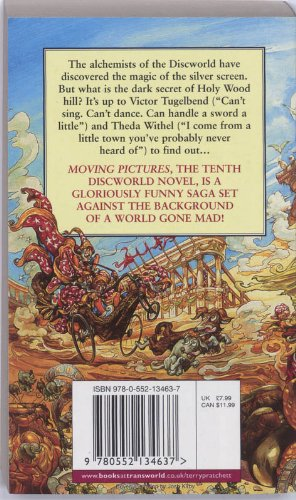 Moving Pictures (Discworld Novel S.)