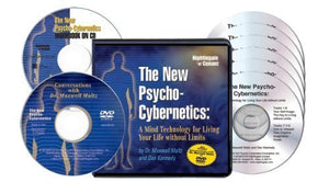 The New Psycho-Cybernetics (6 Compact Discs, Conversations DVD with Dr. Maxwell Maltz, Writable PDF Workbook, PDF Key Point Reminder Cards & PDF Cue Cards)