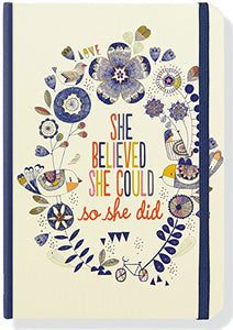 She Believed She Could, So She Did Journal (Notebook, Diary)