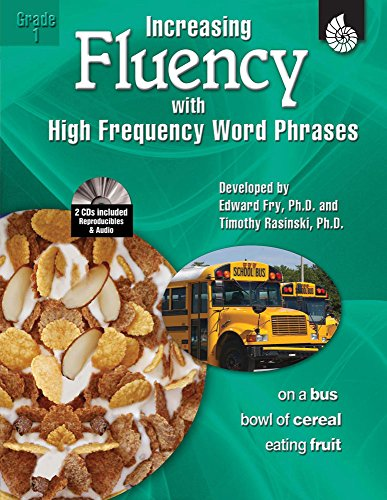 Increasing Fluency with High Frequency Word Phrases Grade 1 (Increasing Fluency Using High Frequency Word Phrases)