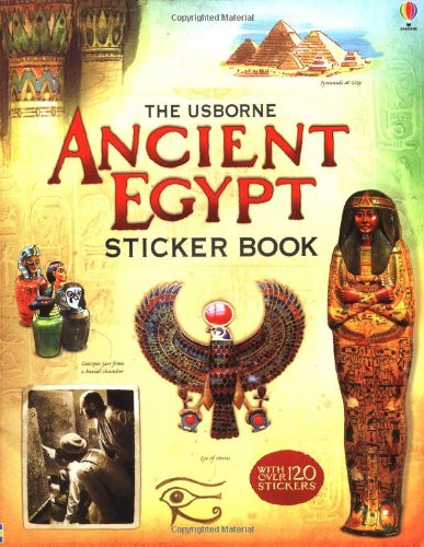 Ancient Egypt Sticker Book (Usborne Sticker Books)