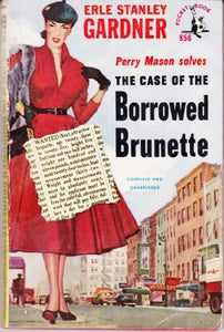 The Case of the Borrowed Brunette/The Case of the Careless Cupid (Perry Mason 2 in 1)
