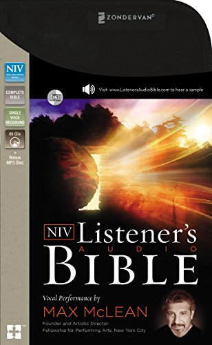 NIV, Listener's Audio Bible, Audio CD: Vocal Performance by Max McLean