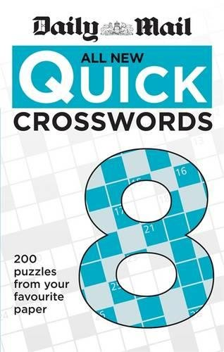 Daily Mail All New Quick Crosswords 8 (Daily Mail Puzzle Books)