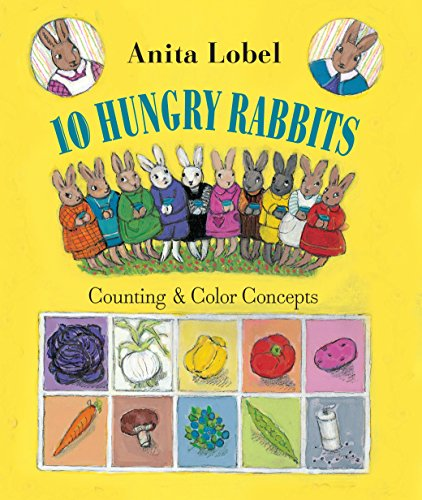 10 Hungry Rabbits: Counting & Color Concepts