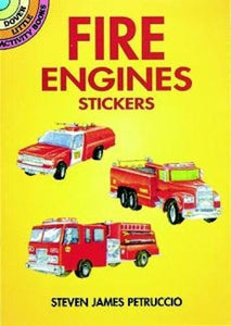 Fire Engines Stickers (Dover Little Activity Books Stickers)