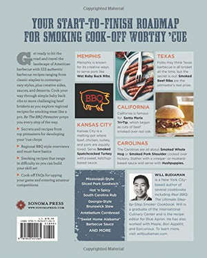 Be the BBQ Pitmaster: A Regional Smoker Cookbook Celebrating America's Best Barbecue