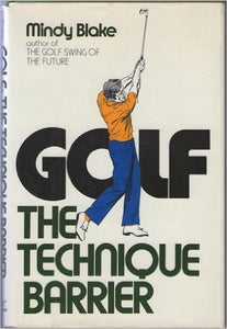 Golf, the technique barrier
