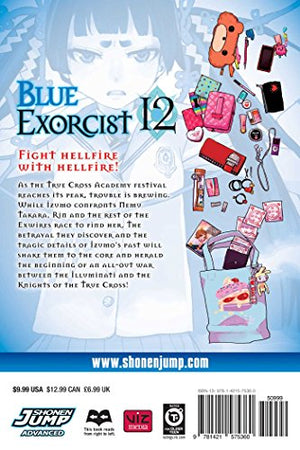 Blue Exorcist, Vol. 12