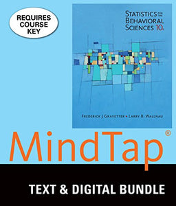 Bundle: Statistics for the Behavioral Sciences, Loose-leaf Version, 10th + MindTap Psychology, 1 term (6 months) Printed Access Card