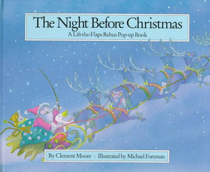 The Night Before Christmas: A Lift-the-flap Rebus Pop-up Book