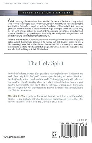 The Holy Spirit (The Foundations of Christian Faith)