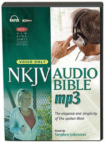 New King James Version Audio Bible, Voice Only